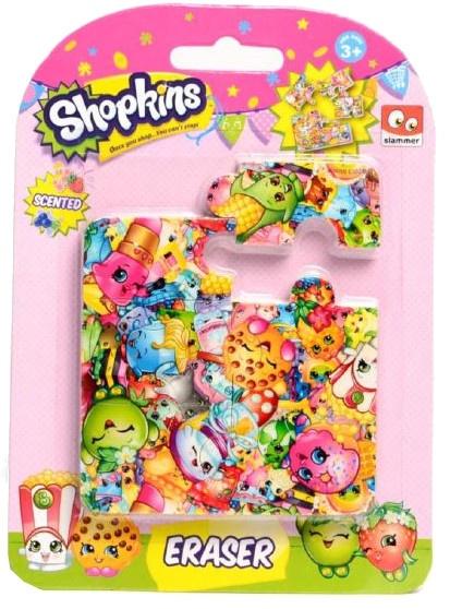 Slammer Shopkins gum puzzel 6 stuks