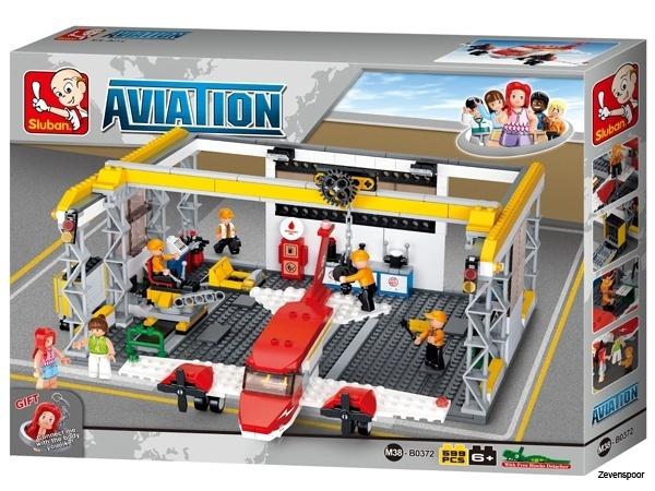 Vliegtuig Hangar