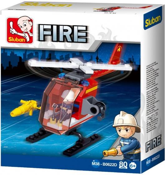 Bouwstenen Fire Serie Helikopter