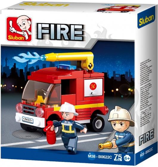 Sluban Fire: Kleine Tankautospuit (M38 B0622C)