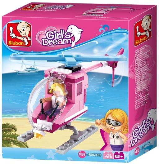 Bouwstenen Girls Dream Serie Beach Helicopter