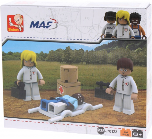 Sluban MAF: Doktersteam (M38 70123)