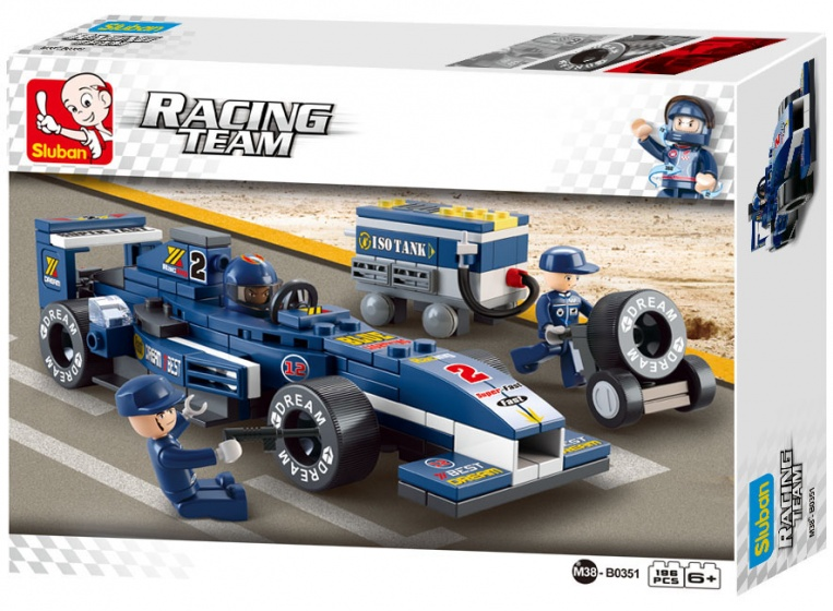 Sluban Racing Team Rennwagen