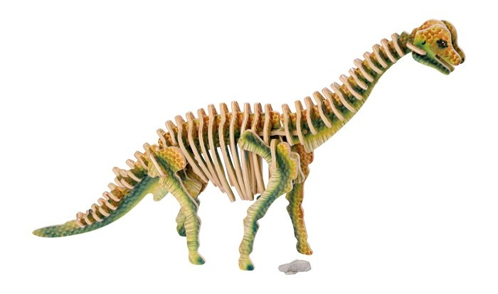 Small Foot 3D Puzzel Brachiosaurus 34 X 7 X 24 cm 60 Delig