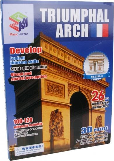 Small Foot 3D Puzzel L'arc De Triomphe 26 Delig