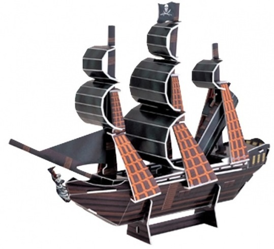 Small Foot 3D Puzzel Piratenschip Pearl 24 Delig