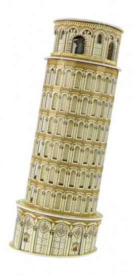 Small Foot 3D Puzzel Scheve Toren Van Pisa 13 Delig