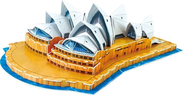 Small Foot 3D Puzzel Sydney Opera House 58 Delig
