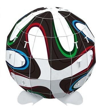 Small Foot 3D Puzzel Voetbal 23 X 23 X 25 cm 66 Stuks