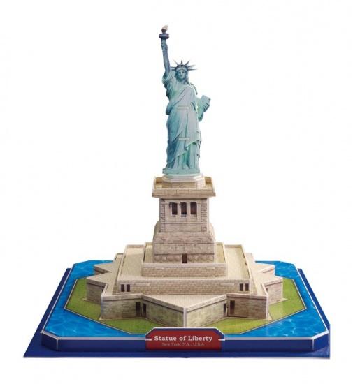Small Foot 3D Puzzel Vrijheidsbeeld 39 Delig