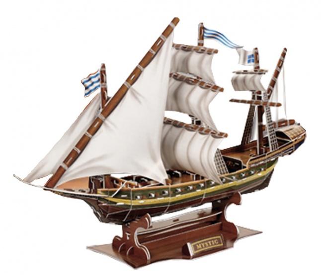Small Foot 3D Puzzel Zeevaart Zeilschip 129 Delig