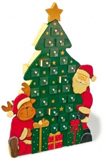 Small Foot Adventskalender Kersttijd 7 x 29 x 42 cm kopen