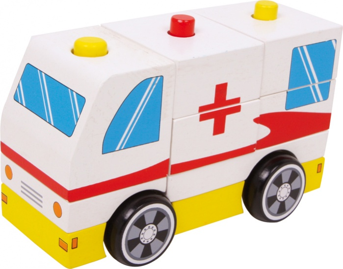 Small Foot Ambulance Rode Kruis