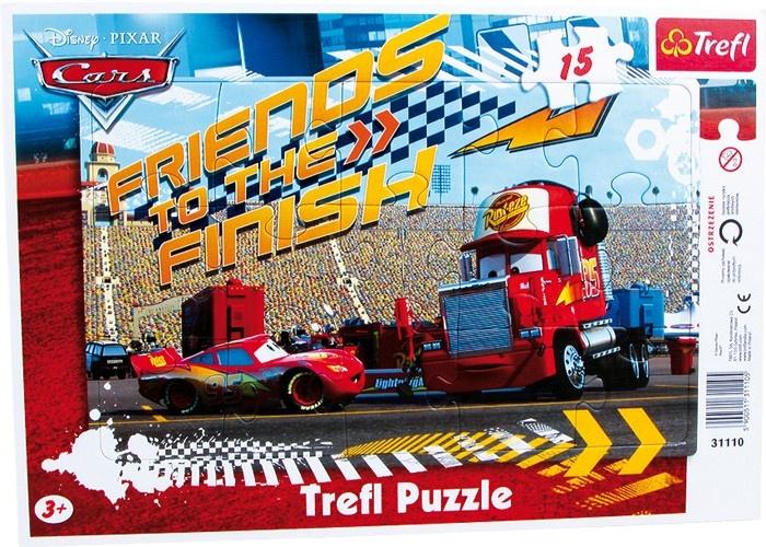 Trefl Frame Puzzel Cars 15 Stuks