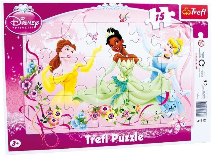 Trefl Frame Puzzel Prinses 15 Stuks
