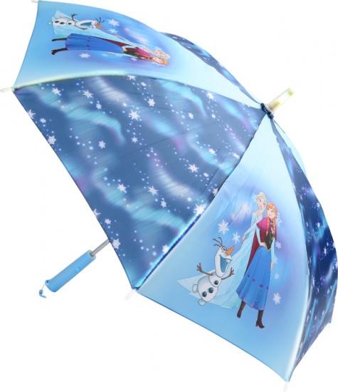 Small Foot Frozen paraplu met LED lamp meisjes blauw 86 cm