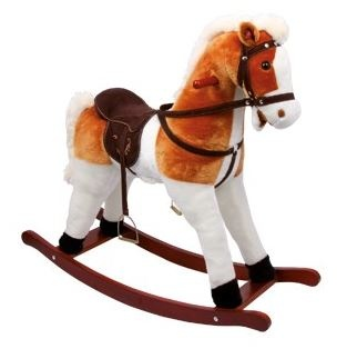 small foot rocking horse calypso 85 x 31 x 78 cm internet toys. Black Bedroom Furniture Sets. Home Design Ideas