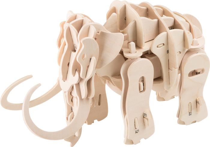 Small Foot houten bouwpakket Mammoet robot 89 delig