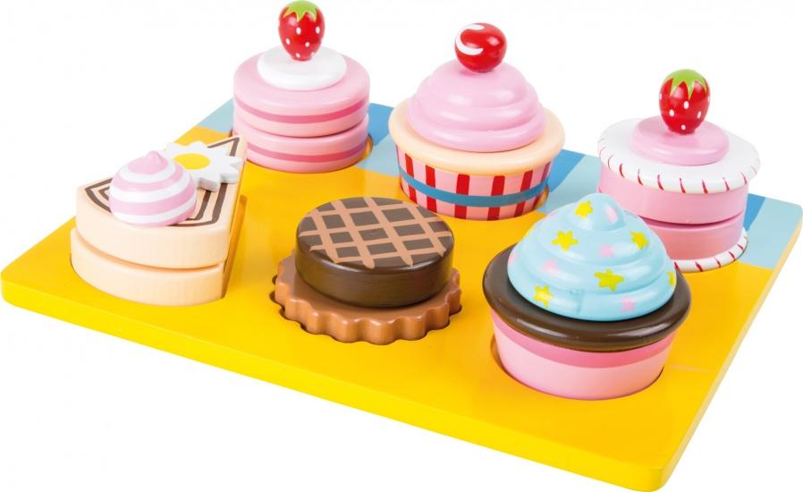 Small Foot Houten Cupcakes en gebak