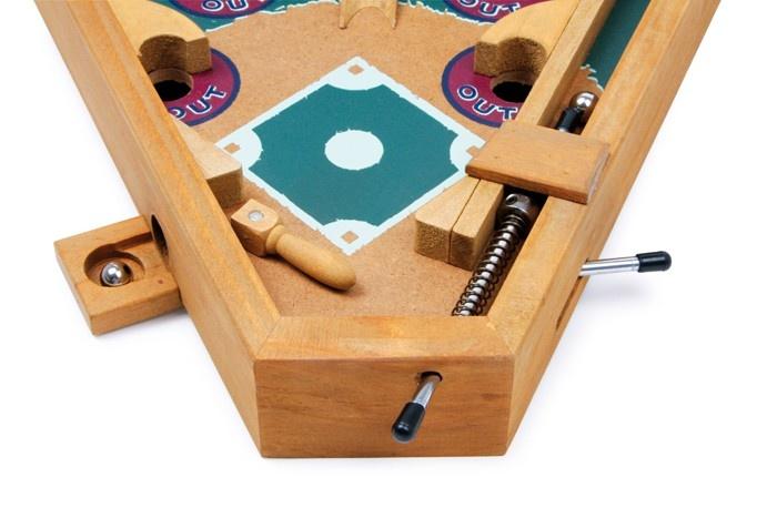 small foot houten flipperkast honkbal 32 x 19 x 30 cm internet toys. Black Bedroom Furniture Sets. Home Design Ideas