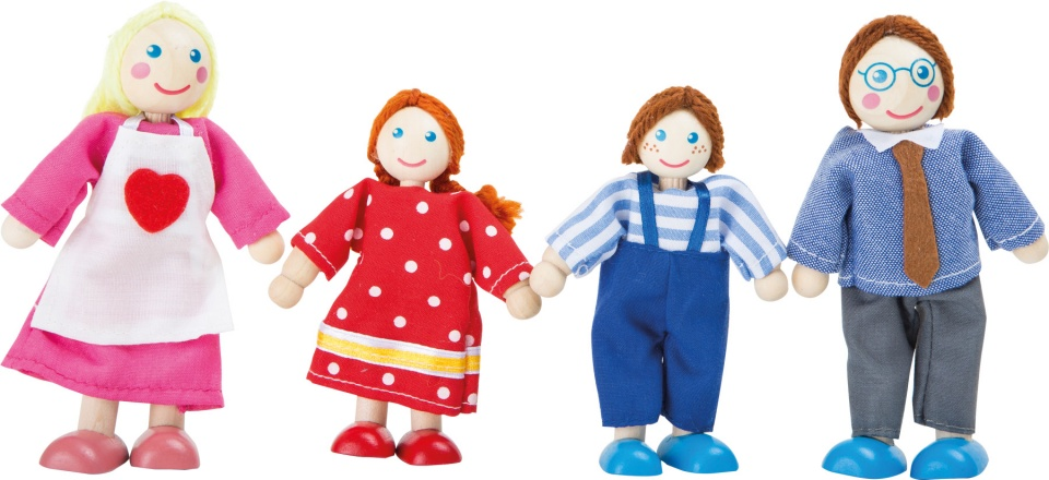 Small Foot Houten Poppetjes Familie Set Van 4 Internet Toys