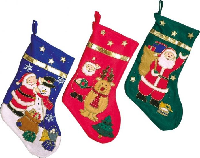 Small Foot Kerstman Sokken 30 x 44 cm kopen