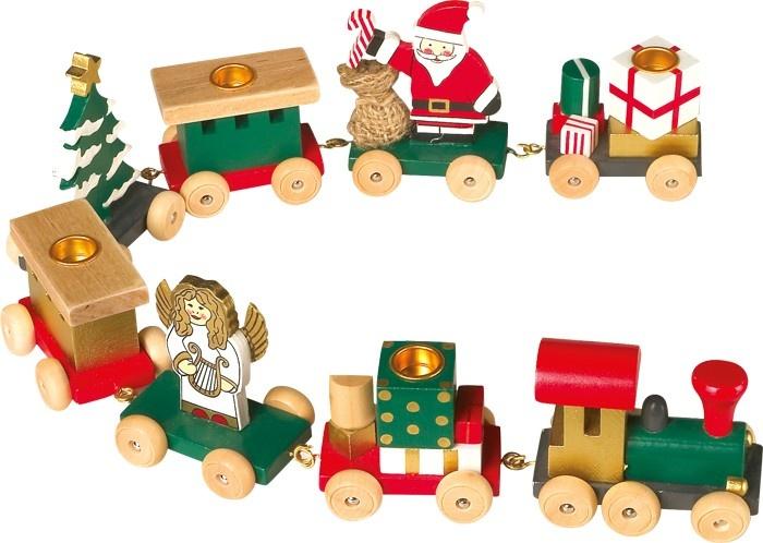 Small Foot Kersttrein Caravaan 54 x 4 x 8 cm kopen
