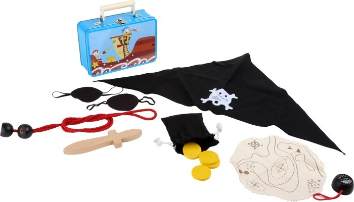 Small Foot Kinderkoffer Piratenset