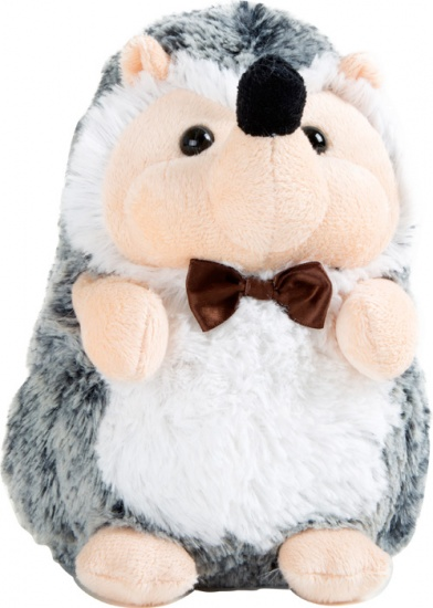 Small Foot Knuffel egel pluche 14 x 11 x 19 cm grijs