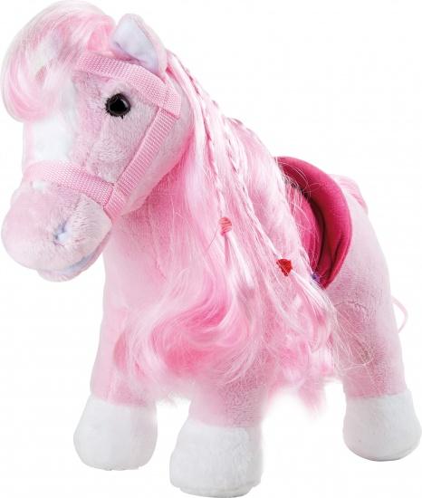 Small Foot Knuffel pony Rosa 38 x 17 x 30 cm roze