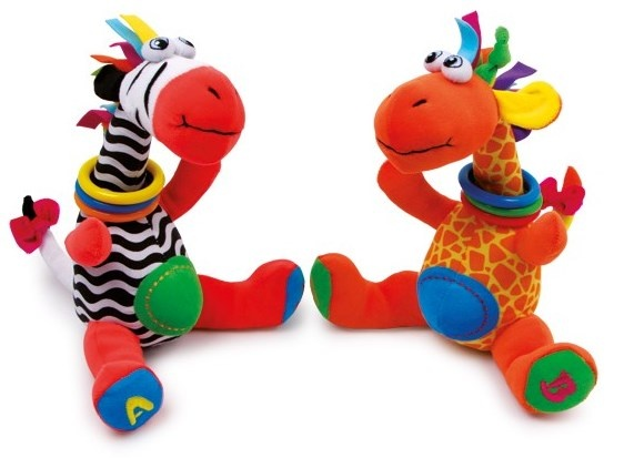 Toys For Feet : Small foot stuffed animals jimmy and cleo cm