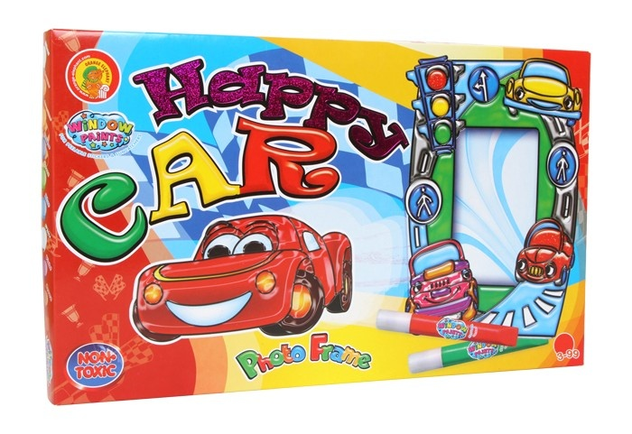 Small Foot knutselset happy car