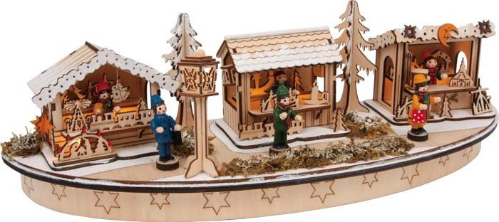 Playmobil Prinsessen Slaapkamer : 26% Small Foot Kerstdecoratie Bazaar ...
