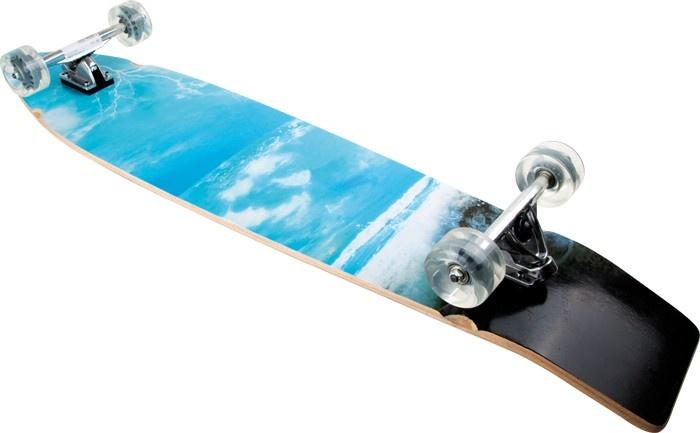 Small Foot longboard Golvenrijder