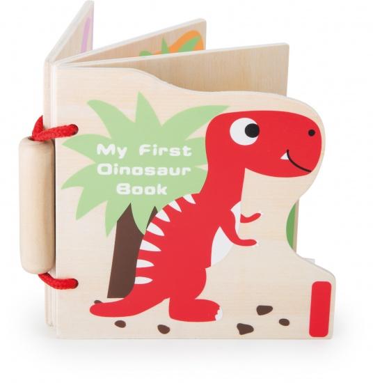 Small Foot Mijn eerste dinosaurus houten boek