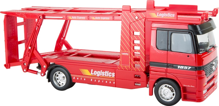 Small Foot Modelauto Mercedes Benz Autotransporter
