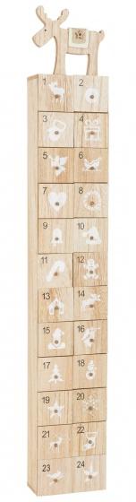 Small Foot moderne houten kerstkalender 12 cm kopen