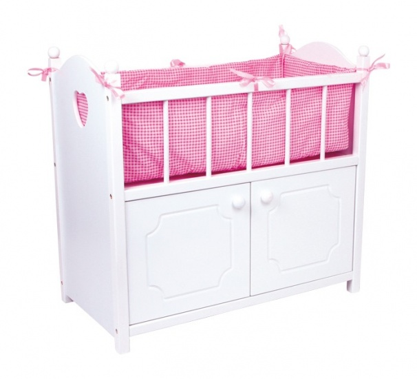 Small Foot Poppenbed Met Kast