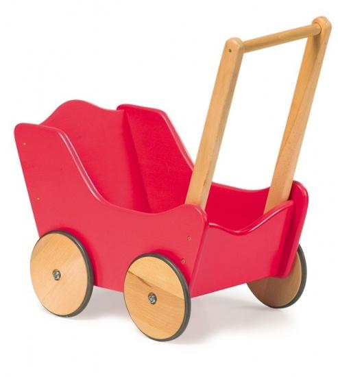 Small Foot Poppenwagen Klassiek Rood