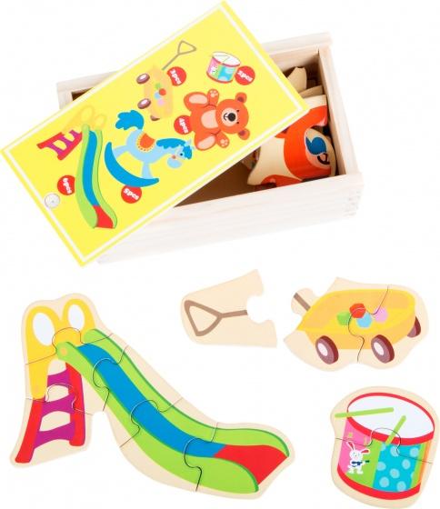 Small Foot puzzel mijn favoriete speelgoed