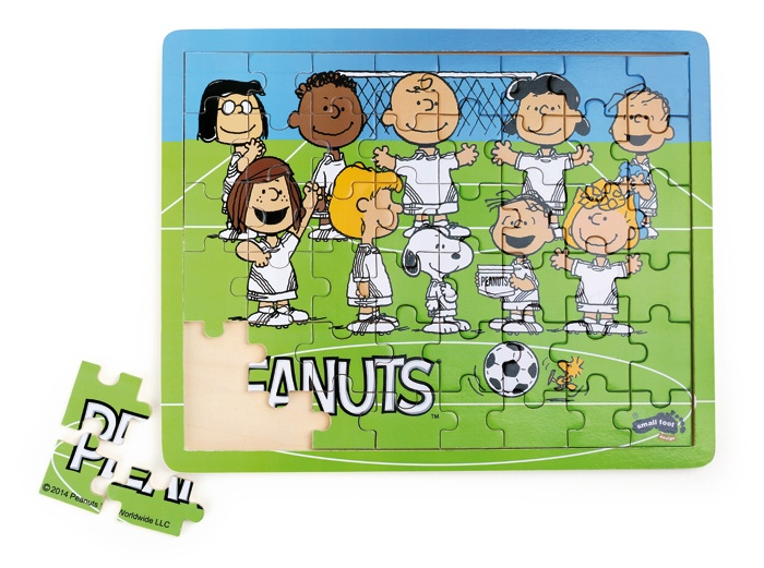 Small Foot Puzzel Peanuts voetbal 48 delig