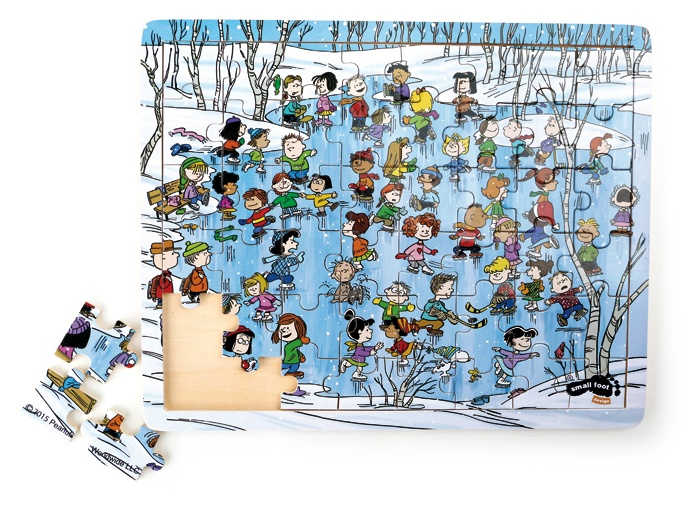 Small Foot Puzzel Peanuts winter 48 delig