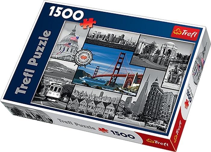 Trefl Puzzel San Francisco 1500 Delig