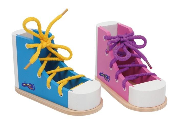 Small Foot Set Van 2 Rijgschoenen