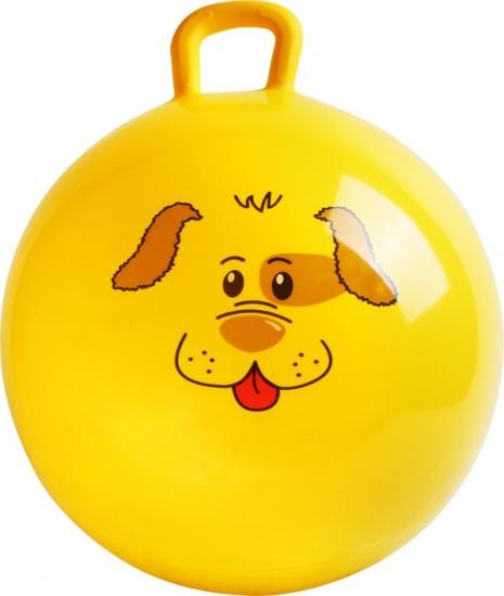 Small Foot Skippybal Hond Geel 45 cm