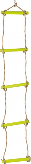 small foot sky stormer rope ladder green