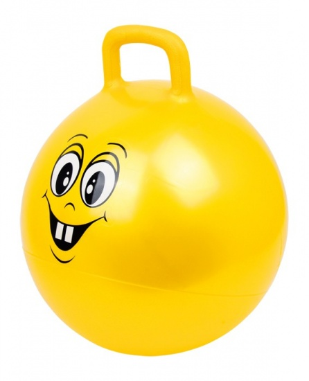 Small Foot Skippybal Smiley Geel 40 cm