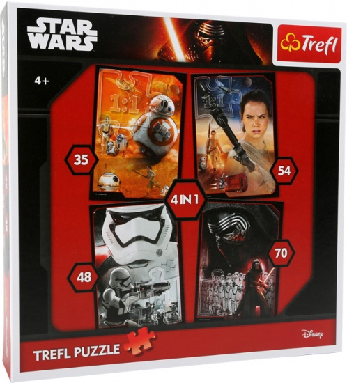 Trefl Star Wars legpuzzel 4 in 1
