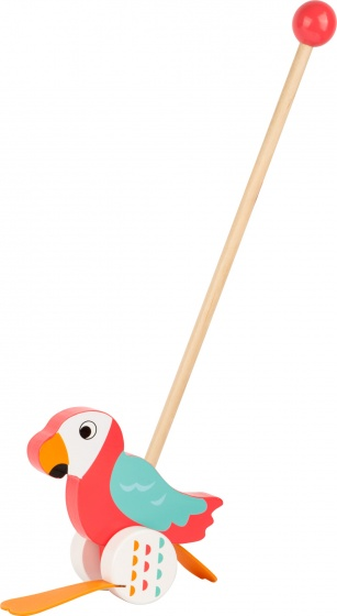 Small Foot Stokroller papegaai Lori 55 cm