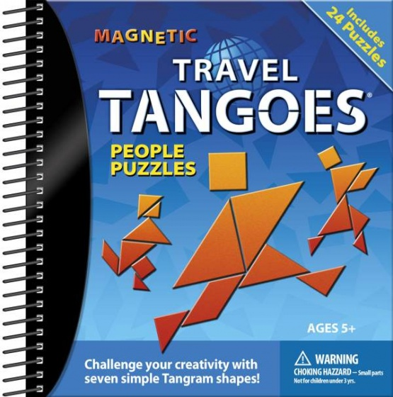 Smart Games Tangoes tangram reisspel blauw (Franstalig)